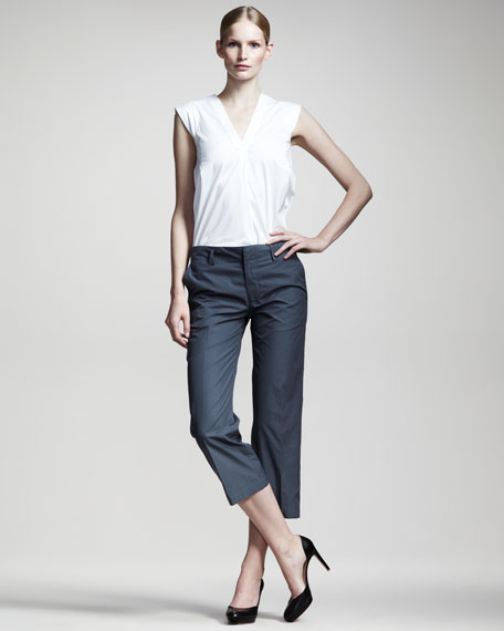 Noel Cropped Pants, Galena