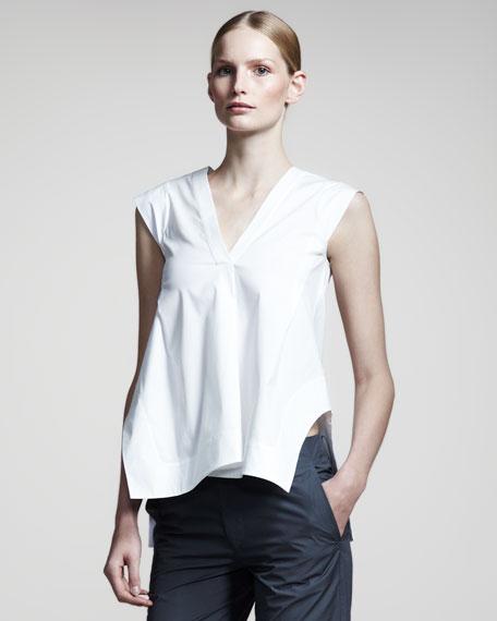 Noce Sleeveless Tunic, White