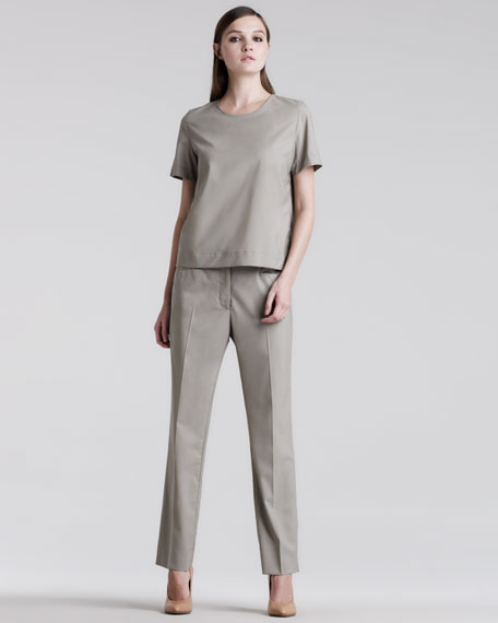 Easy-Fit Ankle Pants