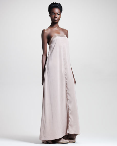 Strapless Runway Gown