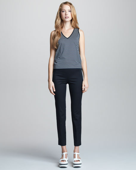 Narrow-Leg Trousers