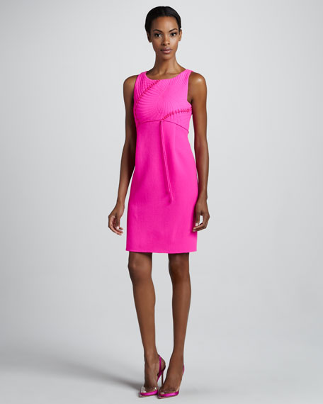 Fossil-Bodice Dress, Pink
