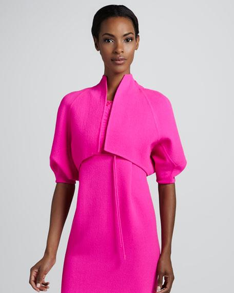 Cropped Kite Jacket, Pink