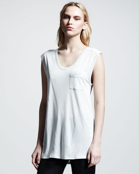 Classic Muscle Tee, Plaster