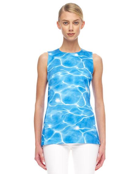 Pool-Print Top