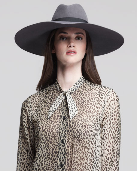 Large Wool Fedora