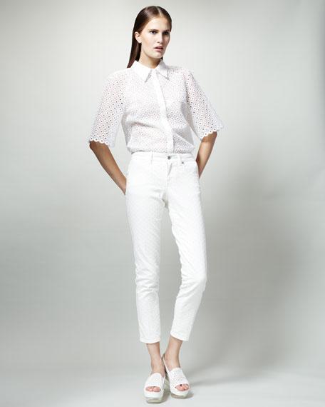 Skinny White Jeans
