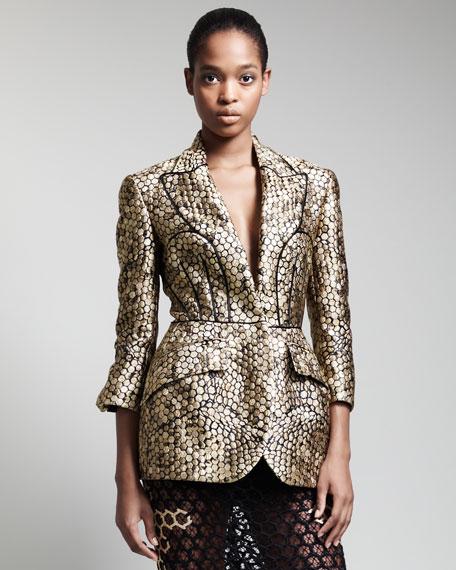 Trompe L'oeil Honeycomb Jacket