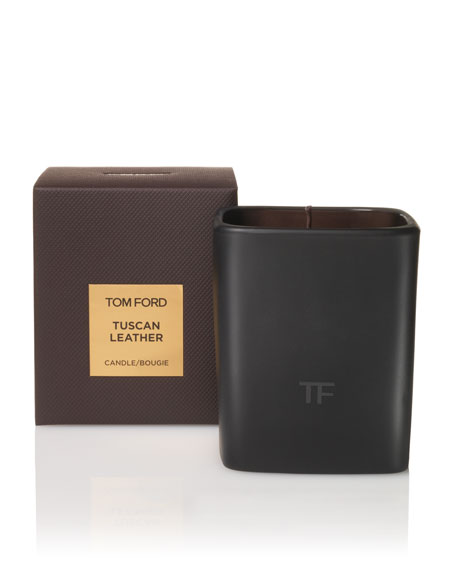 Tuscan Leather Candle