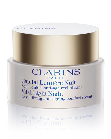 Vital Light Night Comfort Cream for Dry Skin