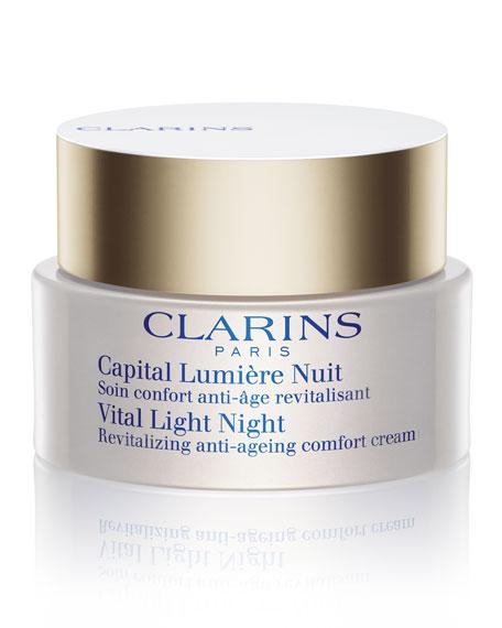 Vital Light Night Comfort Cream for Dry Skin