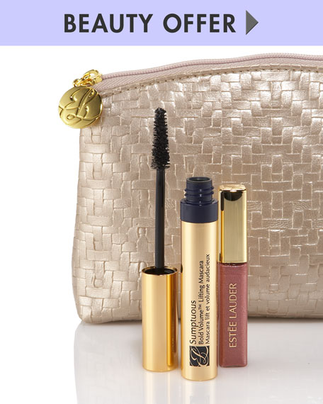 Yours with any $100 Estee Lauder purchase
