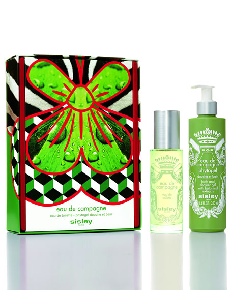 Eau du Soir Bath and Shower Gel Set