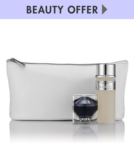 Yours with any $300 La Prairie purchase