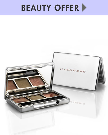 Yours with any $125 Le Metier de Beaute purchase