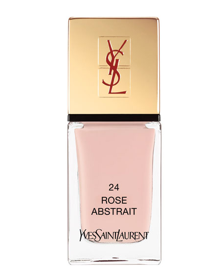 La Laque No24 Rose Abstrait