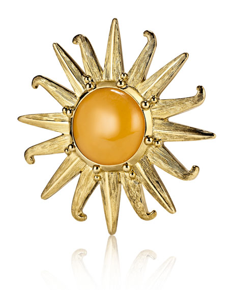 Limited Edition Radiant Sun Beautiful Solid Perfume Compact