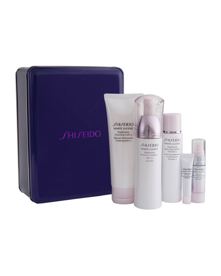 White Lucent Brilliant Beauty Basics Set