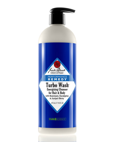 Turbo Wash Energizing Cleaner for Hair and Body