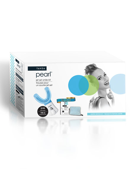 Jet Set Smile Pearl Teeth-Whitening Kit