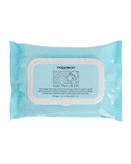 Auto Pilot Lift Off Makeup Remover Wipes
