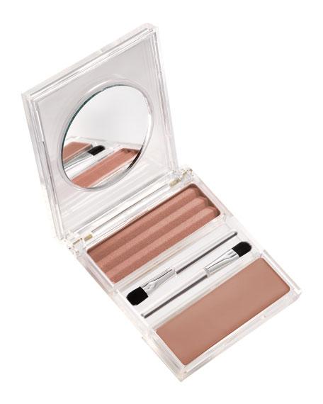 Double Agent Nude Lipstick/Powder Palette