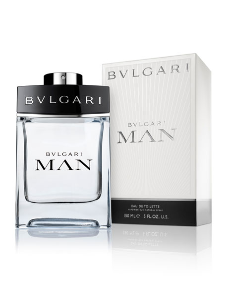 Bvlgari Man Eau de Toilette Spray, 5.0 oz./ 150 mL