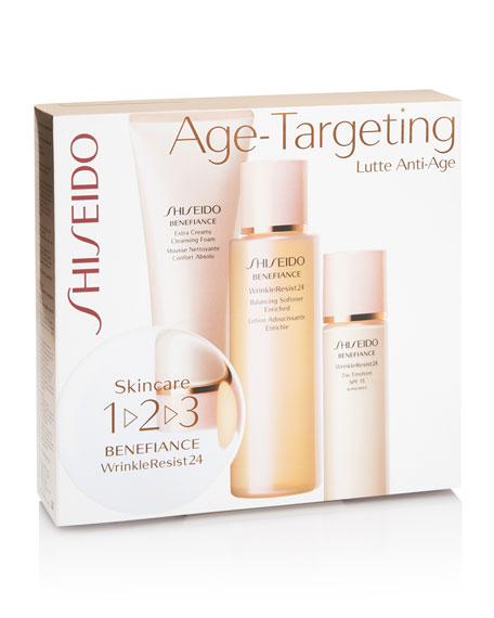 Limited Edition Skincare Benefiance Age-Targeting Starter Set