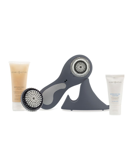 PLUS, Face & Body Sonic Cleansing, Gray