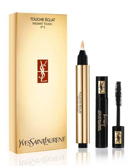 Limited-Edition Touche Eclat & Shocking Mascara Set