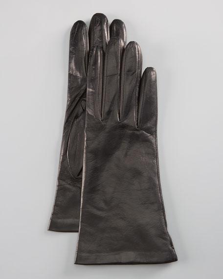 Leather Glove, Black