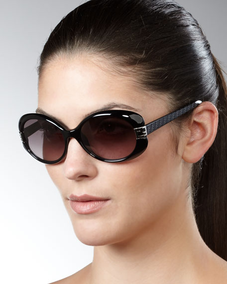 Mia Sunglasses, Black