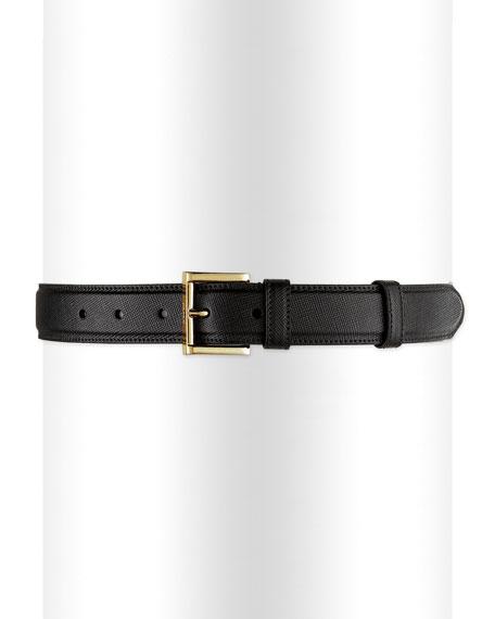 Saffiano Dress Belt