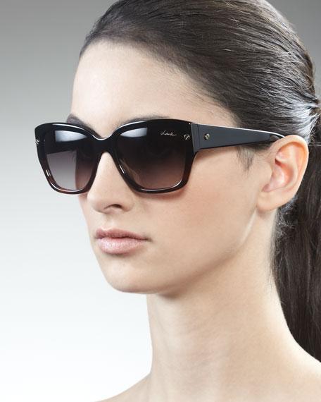 Shiny Havana Sunglasses