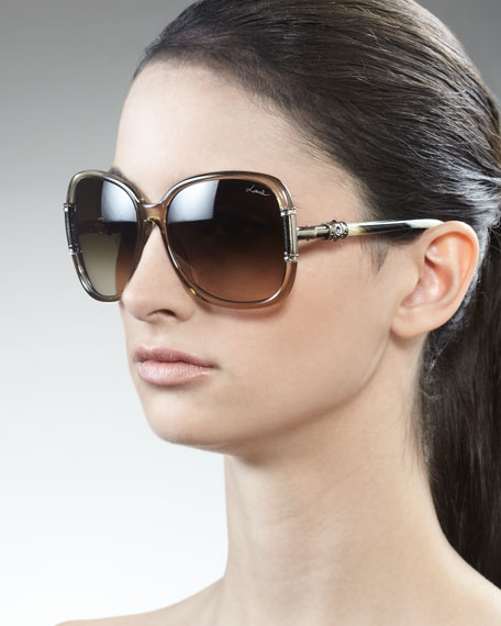 Swarovski  Crystal-Detail Sunglasses