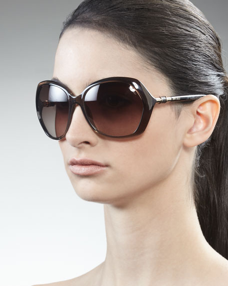 Justine Resin Sunglasses