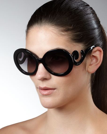 6b32f06fa64d5 Prada Baroque Sunglasses