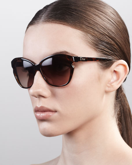 Simply Dior Cat-Eye Sunglasses