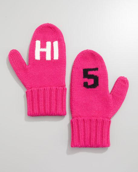 """""""HI 5"""" mittens"""