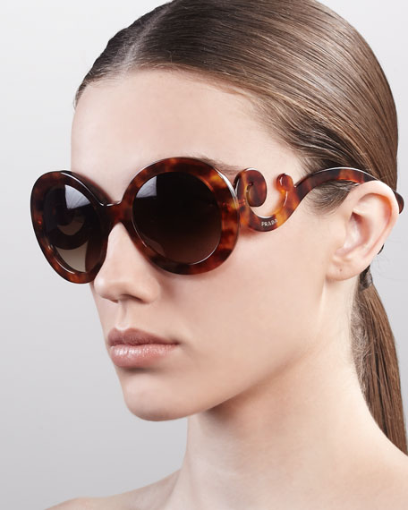 Baroque Sunglasses, Light Tortoise
