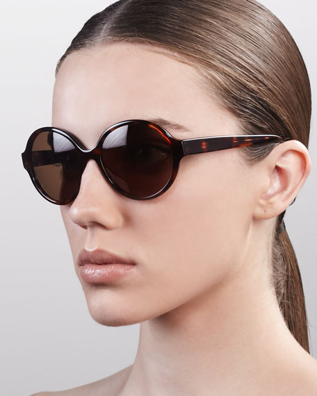 Sunglasses In Spanish  barton perreira bouvier oversized rounded sunglasses spanish cedar