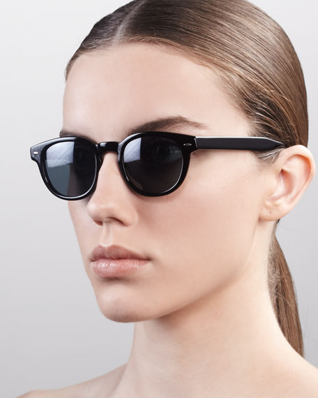 Sheldrake Sunglasses, Black
