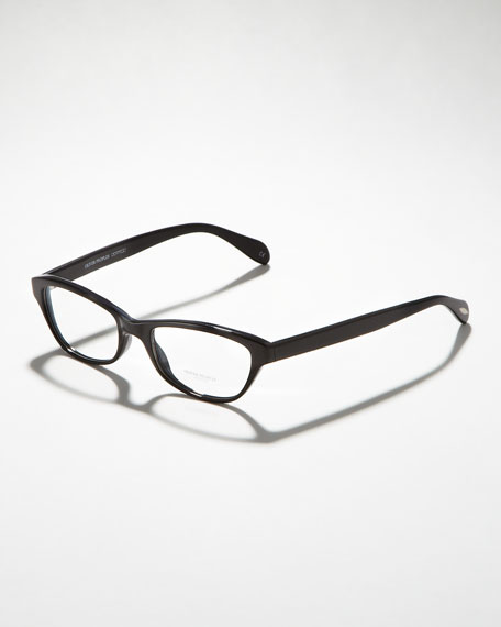 Luv Fashion Glasses, Black