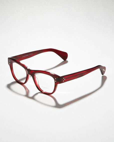 Parsons Fashion Glasses, Red