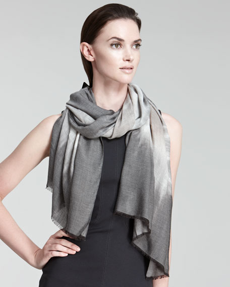 Abstract Ombre Stole