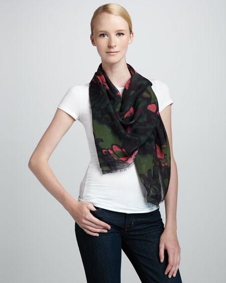Butterfly Camo Scarf