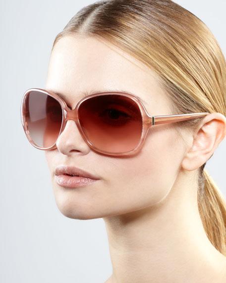 AERIN Isobel Sunglasses, Pink