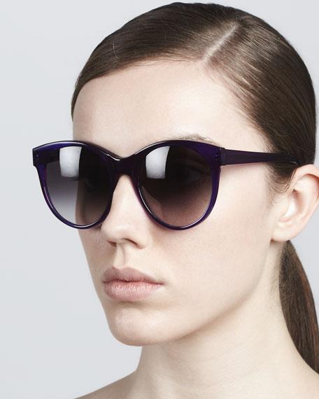 Mademoiselle Cat-Eye Sunglasses