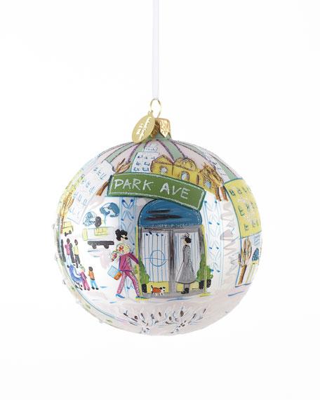 """Park Avenue"" Christmas Ornament"