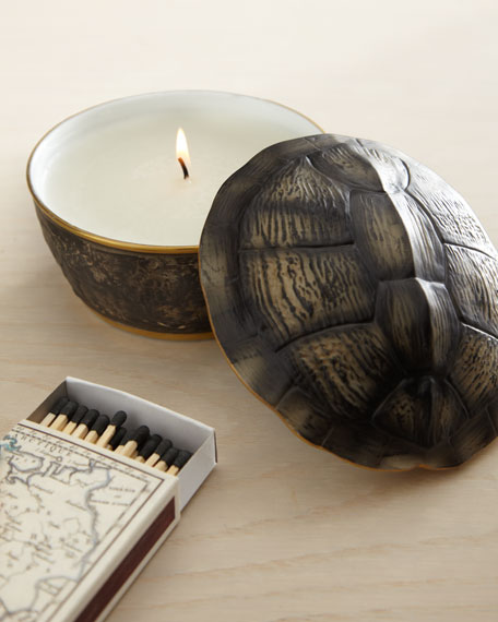 Turtle Shell-Lid Candle